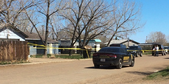 The house where 1-year-old Kenzley Olson was beaten to death.