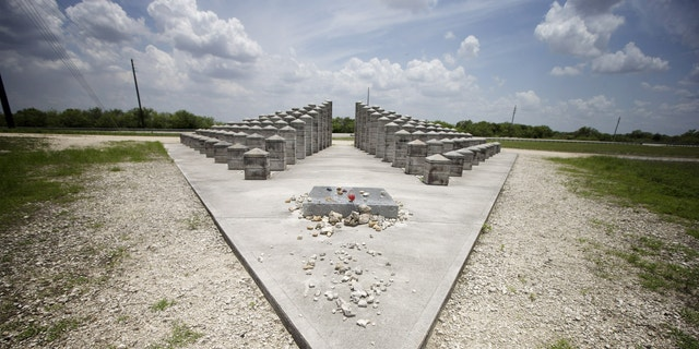 The ValuJet Memorial in Everglades National Park.