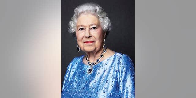Queen Elizabeth in a photo released in February.