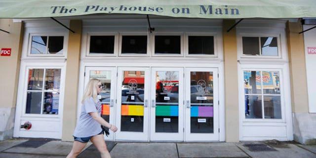 The Starkville Community Theatre in downtown Starkville, Miss.