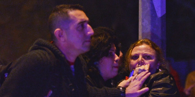 Witnesses reacting to the explosion in Ankara.