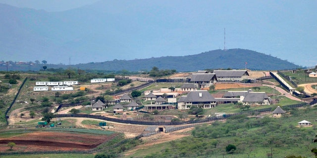 South African President Jacob Zuma's private compound homestead in Nkandla, in 2012.