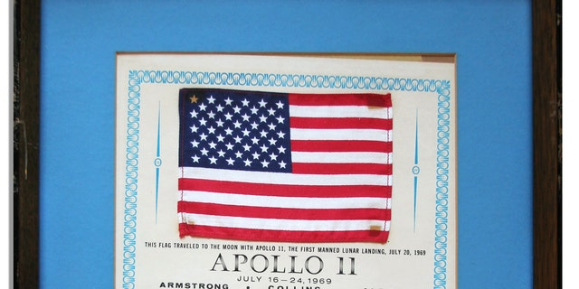 The Apollo 11 American flag (Nate D. Sanders Auctions)