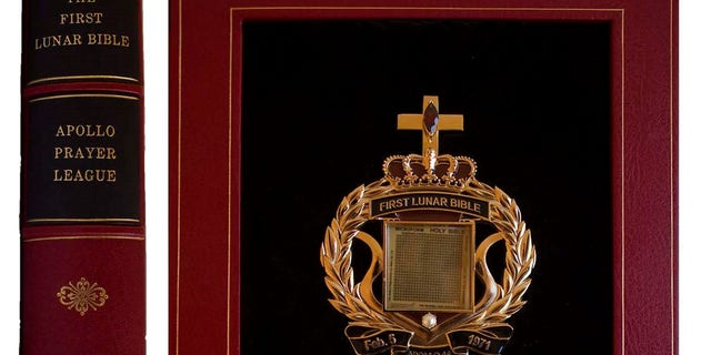 The tiny Bible that traveled to the Moon on the Apollo 14 mission (Nate D. Sanders Auctions)
