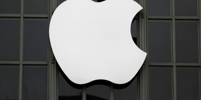 The Apple Inc. logo is shown outside the company's 2016 Worldwide Developers Conference in San Francisco, California, U.S. June 13, 2016. (REUTERS/Stephen Lam)
