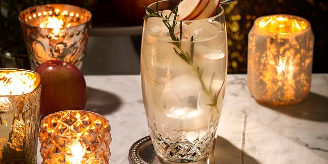 Pair this Thanksgiving drink with a slice of apple pie.