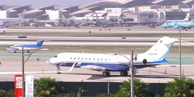 Private jets from the Gulf region are a common site at LAX and smaller airports around LA. (FoxNews.com)