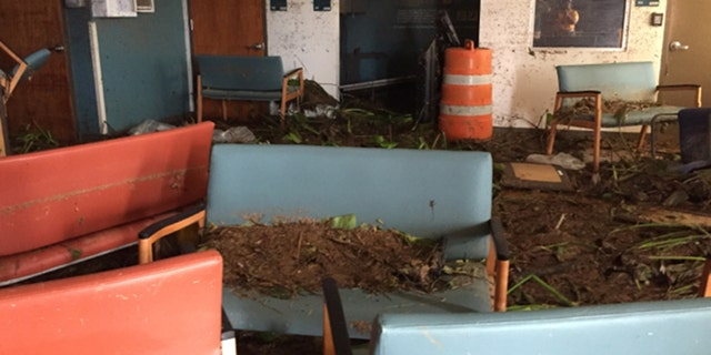 The Veteran Affairs clinic in Arecibo in Puerto Rico suffered heavy damage due to Hurricane Maria, forcing it to close. The VA is using a mobile clinic in its place to treat vets.
