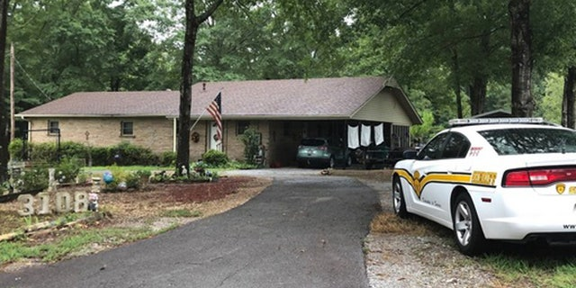 Frank Hill's body was found in a shed on the couple's property.