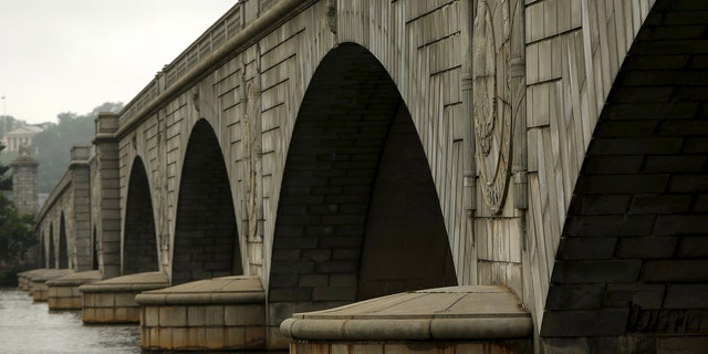 The concrete in the nine arch spans of the Arlington Memorial bridge have been deteriorating for decades. But it's the center span that's most critical.
