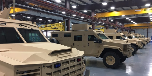 Police departments nationwide have been stocking up on the Armored Incident Response & Rescue Vehicles, taking advantage of a federal program enacted in the 90s allowing law enforcement access to military-grade gear.