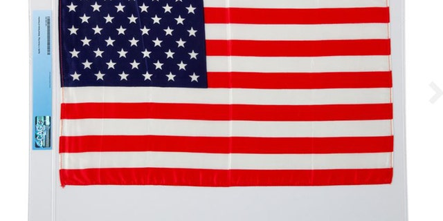 The American flag from Neil Armstrong's lunar landing will be up for auction later this year.