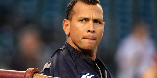 Oct. 17, 2012: Alex Rodriguez takes batting practice before Game 4 of the American League championship series against the Detroit Tigers.
