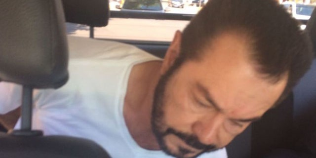 Da Rocha pictured after his arrest.