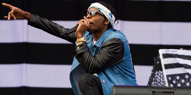 A$AP Rocky performs on day one of the 2013 Budweiser Made in America Festival in Philadelphia, PA.