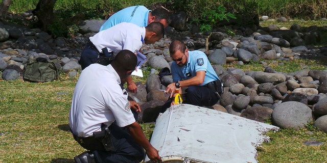 Officials believe an aircraft wing that washed up on the French island of La Reunion is that of MH370