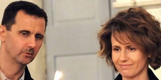 Bashar and Asma Assad are pictured in a Dec. 24, 2016, photo posted to her Instagram account.