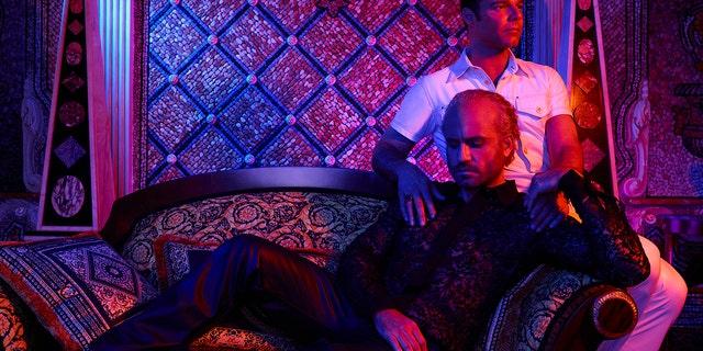 Edgar Ramirez as Gianni Versace, Ricky Martin as Antonio D'Amico.