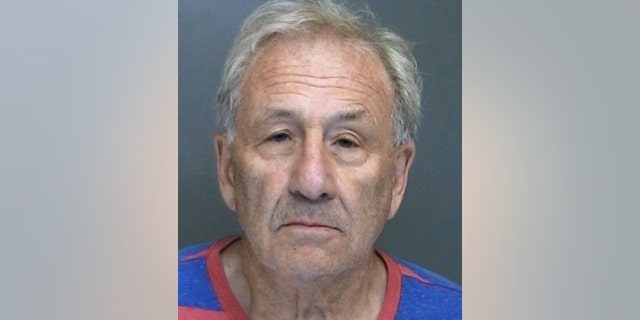 Martin Astrof, 75, was accused of making death threats against Trump supporters and nearly running over a campaign worker outside a Long Island congressman's headquarters on Friday, police said.