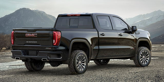 A two-inch lift is a signature feature of the Sierra AT4.
