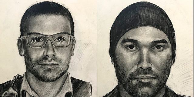 Sketches of suspect sought for impersonating a police officer and sexually assaulting women on Atlanta-area roadways.