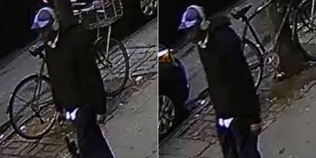 The suspect attacked the 87-year-old, stole money and fled the scene.