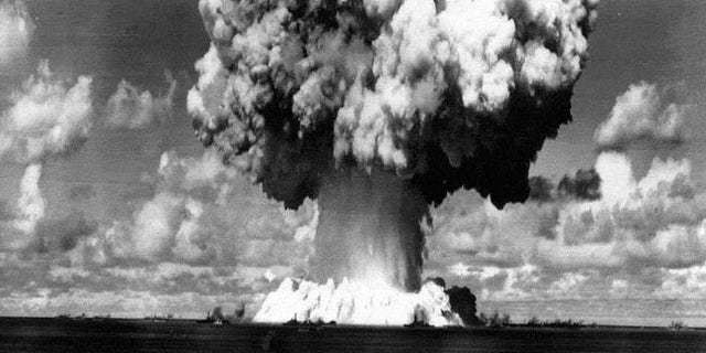 In the late 1940s and throughout most of the 1950s, the US conducted nuclear tests near the Marshall Islands.