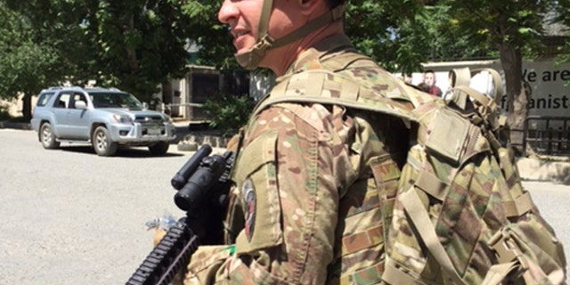 Major Jared Auchey