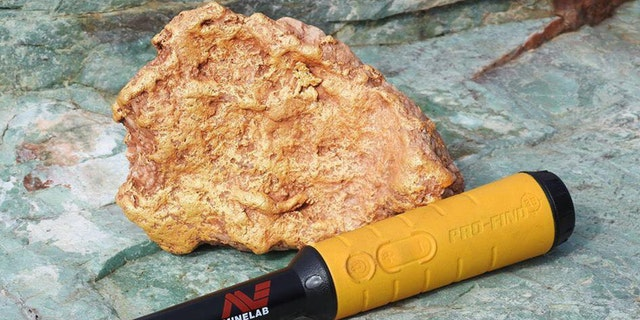 The gold nugget was believed to be worth about $80,000.