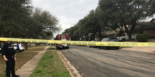 """A man was killed after """"some type of device"""" exploded on the front porch of his Austin home."""