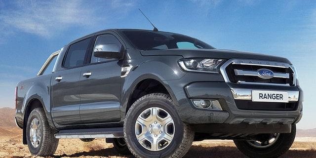 2017 Ford Ranger -- Australia