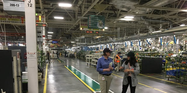 Multimedia reporter Emilie Ikeda tours Toyota's engine plant in Huntsville, Ala. amdist its fifth expansion.