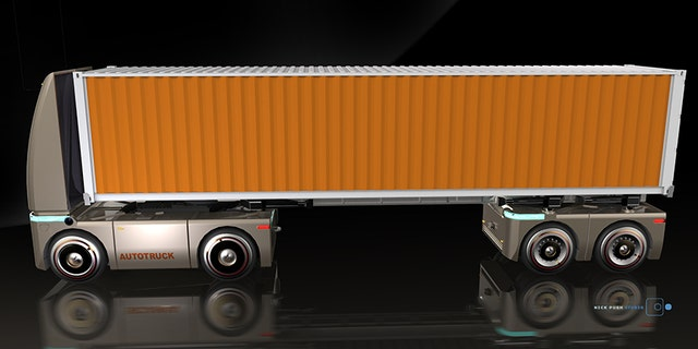 Similar to SURUS, the Autotruck is a self-driving platform for moving goods.