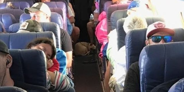 Ahead of Hurricane Maria, Victory Air sent a plane to the U.S. Virgin Islands to evacuate 41 people and their pets.