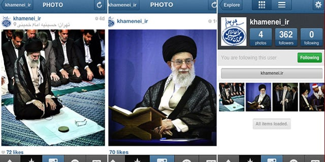 Ayatollah Sayyed Ali Hosseini Khamenei has joined Instagram. The filters give his spiritual guidance a more authentic look.