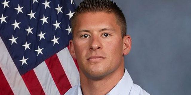 Kyle Brayer, 34, served nine months as a U.S. Marine in Iraq.