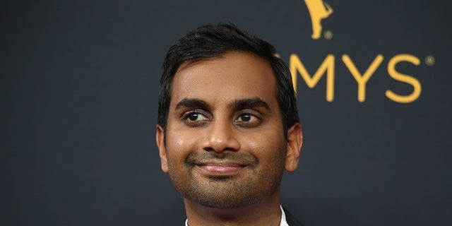 "Actor Aziz Ansari from the Netflix series ""Master of None"" arrives at the 68th Primetime Emmy Awards in Los Angeles, California U.S., September 18, 2016.  REUTERS/Lucy Nicholson - HT1EC9J035XSG"