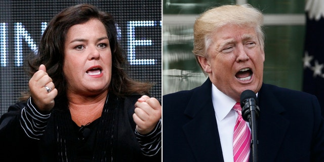 Rosie O'Donnell said Americans are 'disappointed' in President Trump for his coronavirus response.