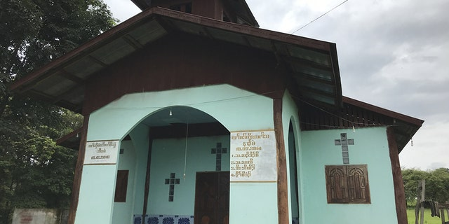 This Christian church survives, while others have been destroyed or replaced.