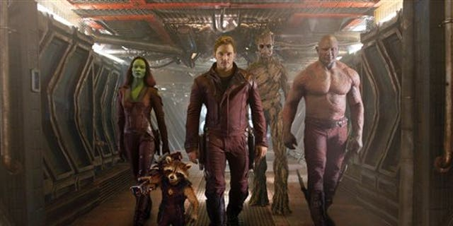 'Guardians of the Galaxy' cast.