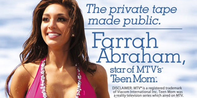 Farrah Abraham's video cover is shown.