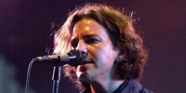 Eddie Vedder of Pearl Jam (AP)