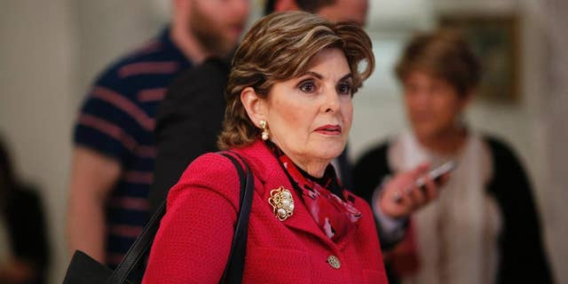 Attorney Gloria Allred speaks to reporters May 24, 2016, in Norristown, Pa. (Associated Press)