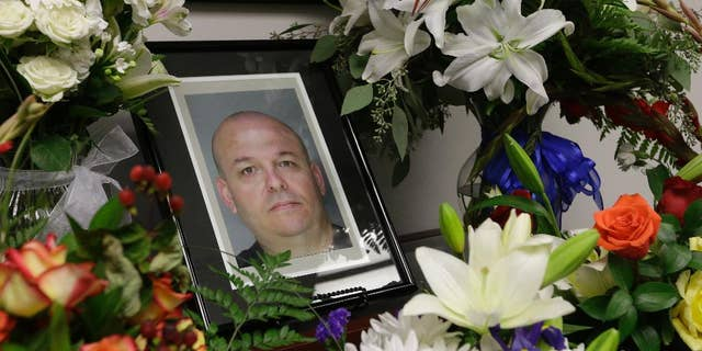 A photo of slain Sacramento County sheriff's Deputy Danny Oliver.