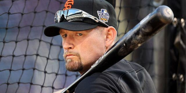 The Giants will not include Aubrey Huff in their World Series ceremony.