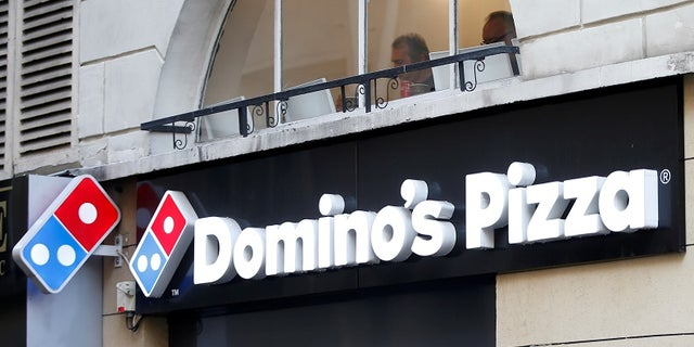 Christiana Cinn ordered a pizza from Domino's while staying in a Milwaukee hotel room.