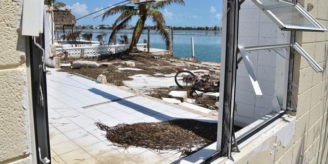 Damage in Florida from Hurricane Irma.