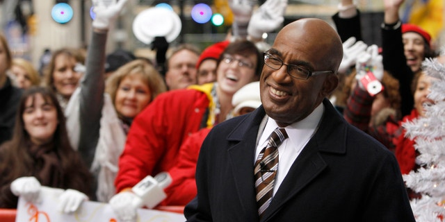 """Morning show host Al Roker smiles during a taping of NBC's """"Today"""" show in New York on November 24, 2009."""