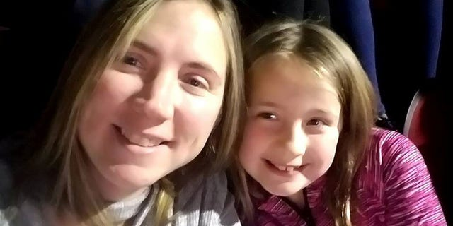 Amy Marie Sharp poses for a selfie, with her daughter Adrianna Marie Sharp at an unspecified location, in this picture uploaded to Facebook on December 3, 2017. Amy Sharp via REUTERS ATTENTION EDITORS - THIS IMAGE WAS PROVIDED BY A THIRD PARTY. NO RESALES. NO ARCHIVES. MANDATORY CREDIT: AMY SHARP - RC11D07A92B0
