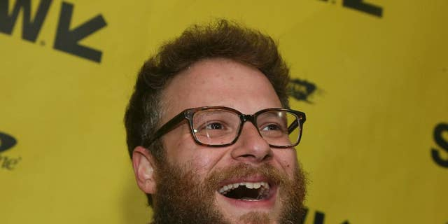"""Seth Rogen at the premiere for """"The Disaster Artist"""" in Austin, Texas, in 2017."""
